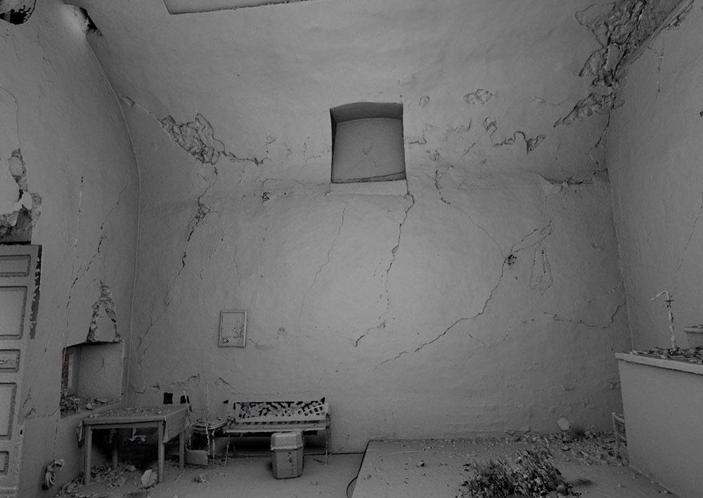 chiesa L'Aquila post terremoto: modellazione nuvole di punti