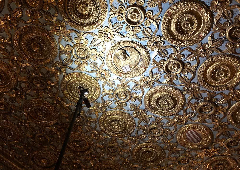 palazzo ducale rilievo con fotogrammetria